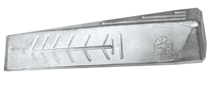 Alumínium csavart hasítóék
