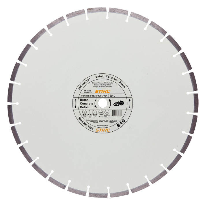 Diamond cutting wheel - Concrete (B)