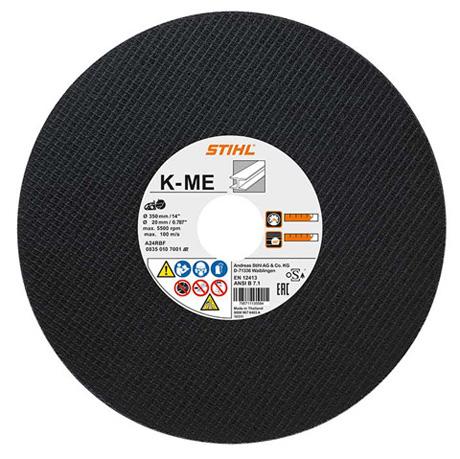 Отрезной круг из синтетической смолы K-ME