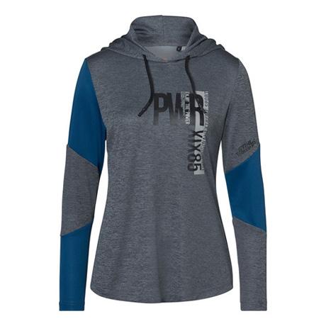Bluza z kapturem (hoodie) PWR damska