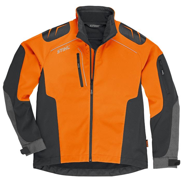ADVANCE X-SHELL jacka, dam, orange/svart
