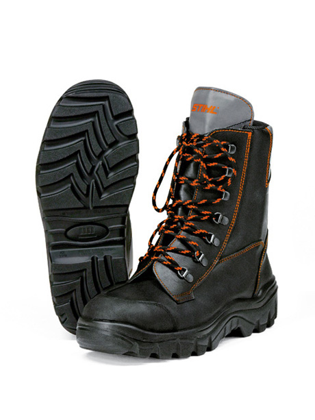 RANGER leather chainsaw boots