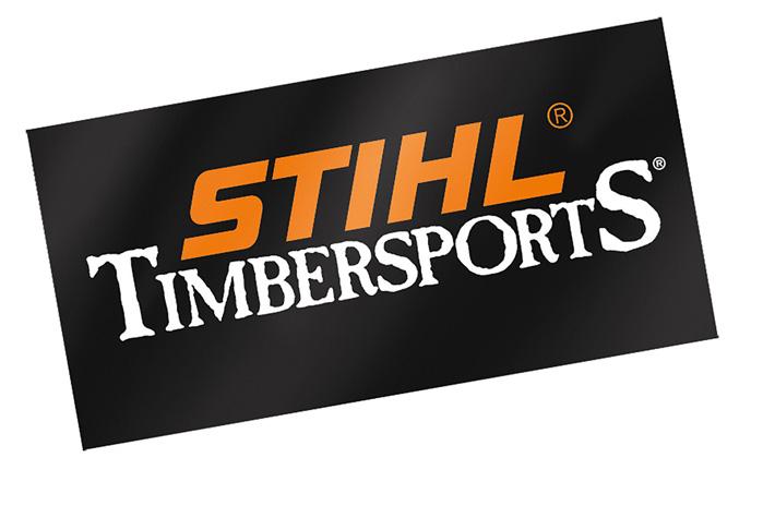 TIMBERSPORTS® sticker, 50 x 25 cm
