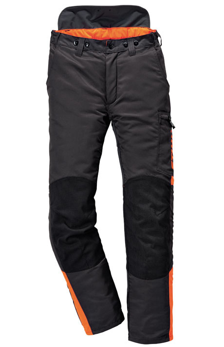 Pantalon DYNAMIC (classe 1), anthracite/orange