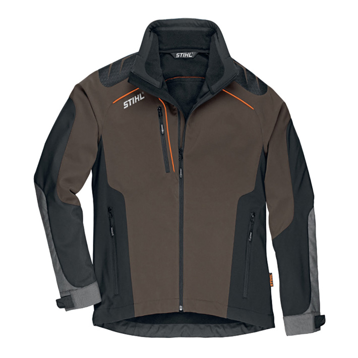 Manteau ADVANCE X-Shell Tourbe