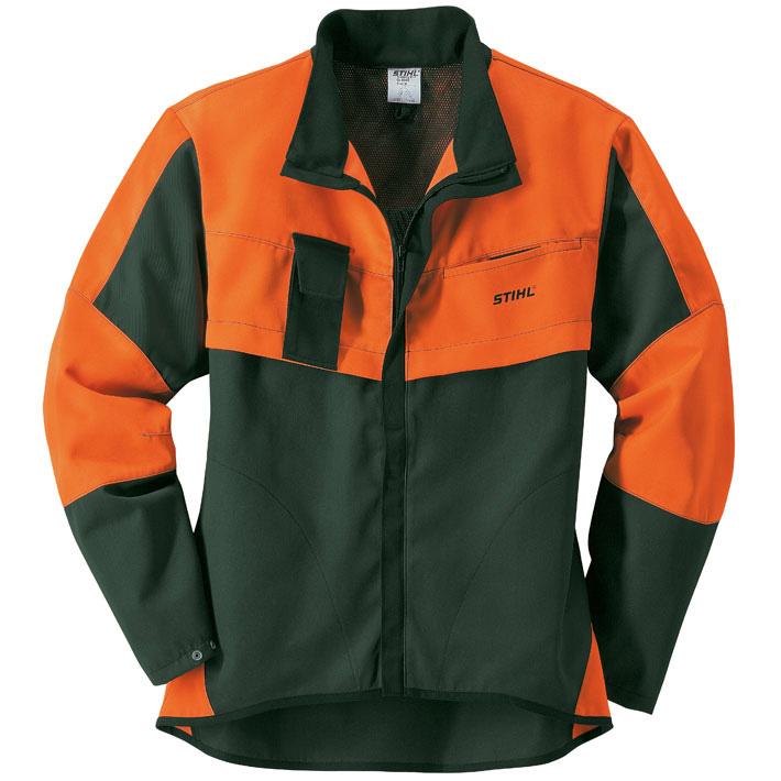 Куртка для лесорубов ECONOMY PLUS, зелёная