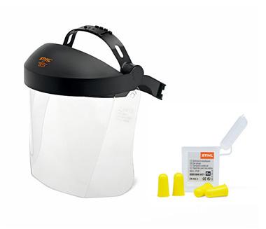 プラスチック顔面保護具