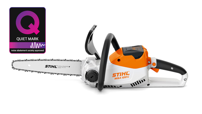 MSA 120 C-B Chainsaw battery and charger sets