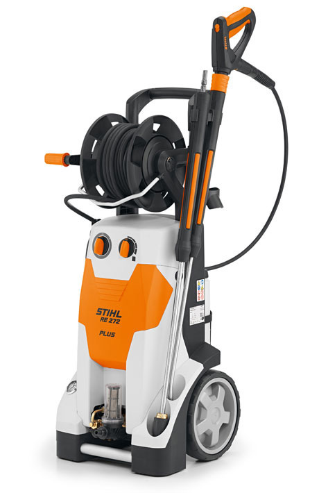 How To Change A Water Pump >> RE 272 PLUS - Professional 150bar-High-pressure cleaner with Integrated hose drum