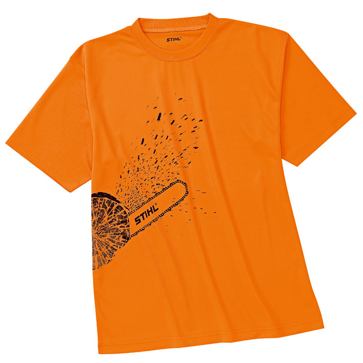 T-shirt DYNAMIC Mag Cool, orange high-viz