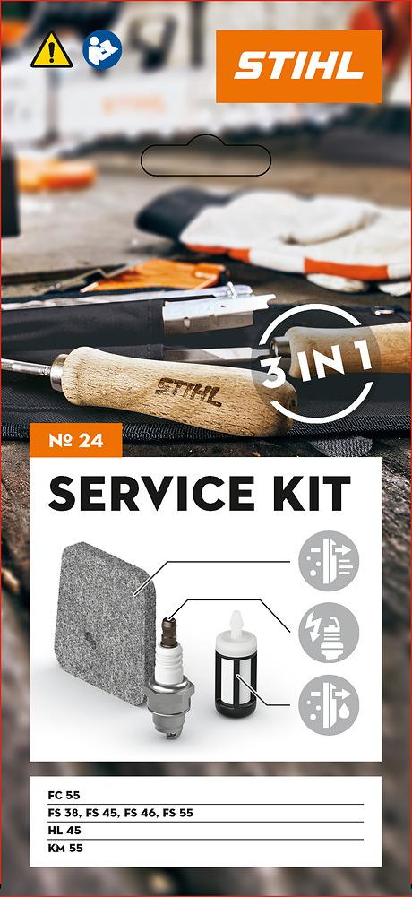 Сервизен комплект 24