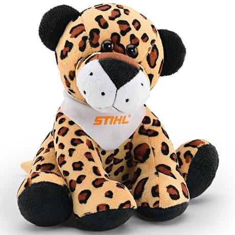 Peluche léopard