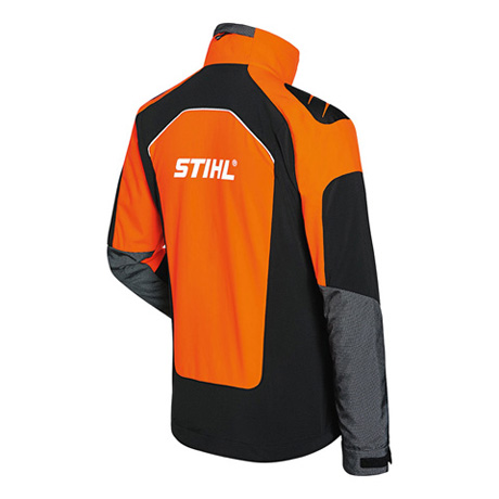 Veste ADVANCE X-SHELL, homme, orange/noir