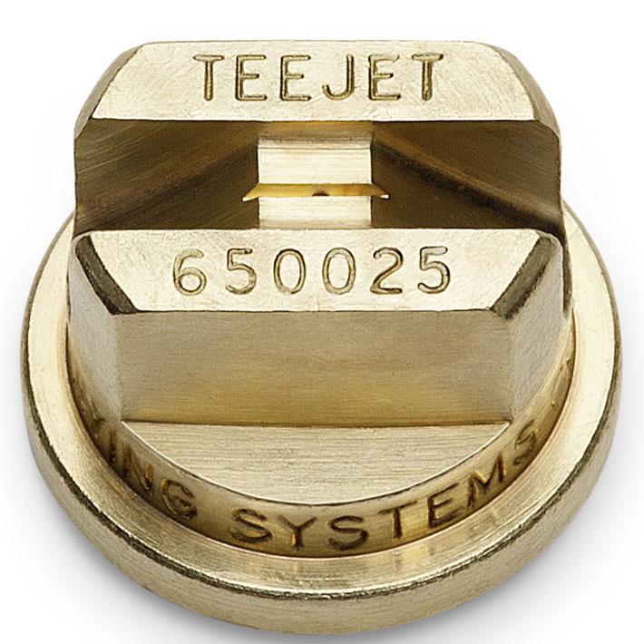 Fan nozzle brass 65-0025
