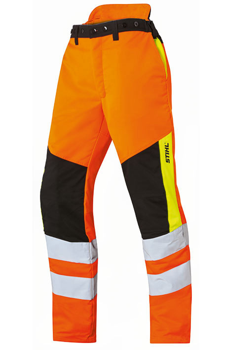 PROTECT MS high-visibility trousers
