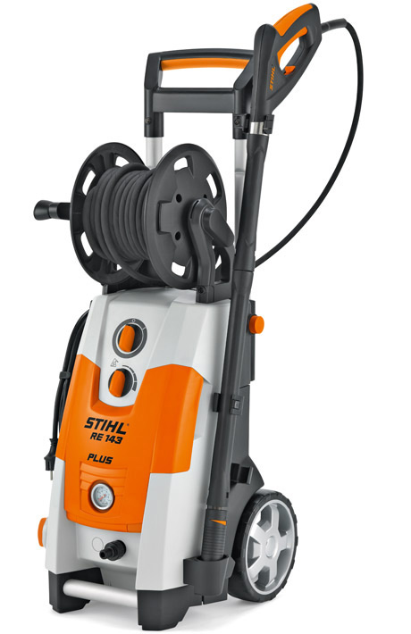 re 143 plus powerful 140 bar cold water high pressure cleaner with rh stihl co uk