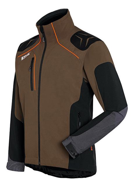 ADVANCE X-SHELL jacket - Peat / Black