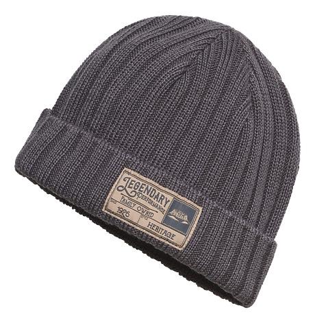 Mütze HERITAGE grau