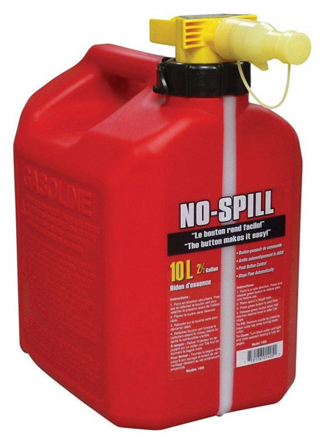 No-Spill® Gas Can