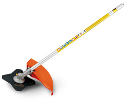 FS - KM Brushcutter with 4-Tooth Grass Blade