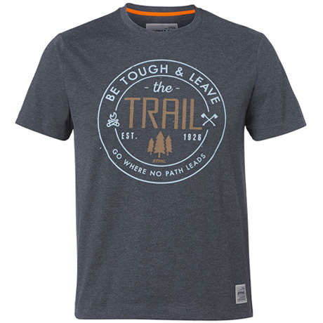"T-Shirt ""BE TOUGH"", gris foncé"