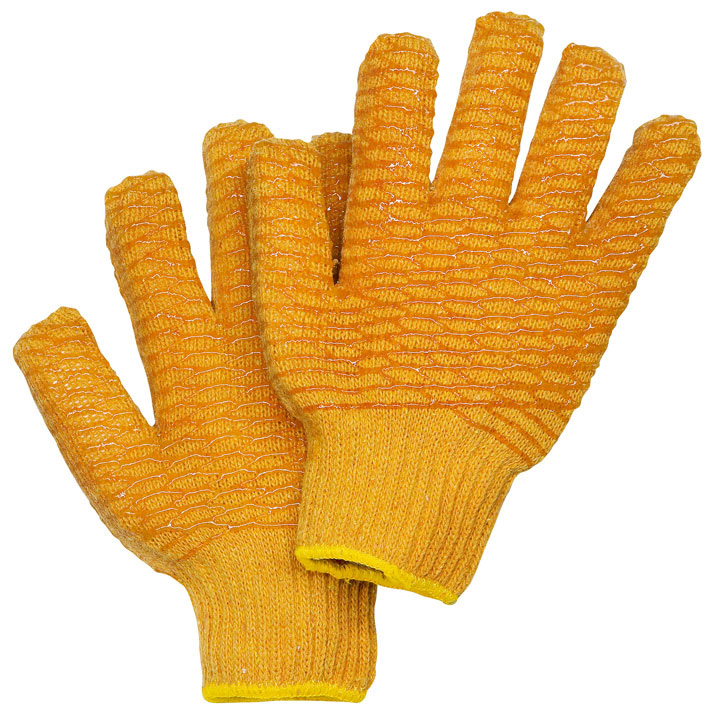 Universal work gloves Criss-Cross - knitting
