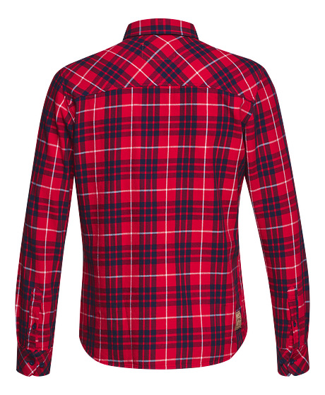 Flannel shirt, red