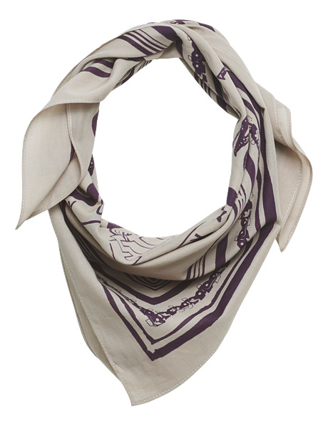 Neck scarf, brown