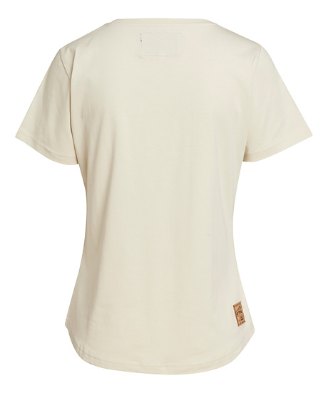 T-Shirt ICON femme, beige