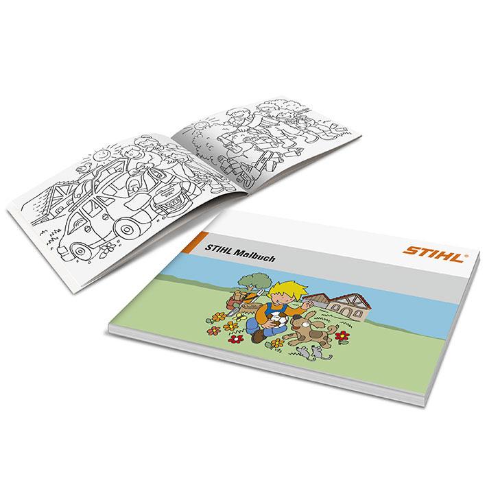 Livre de coloriage avec crayons