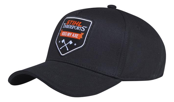 Baseball cap »KISS MY AXE«