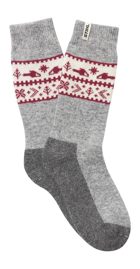 Ponožky XMAS, v 1 balení 2 páry ponožek