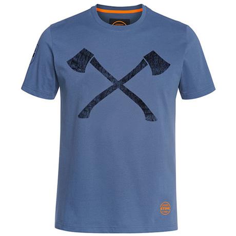 T-Shirt niebieski AXE