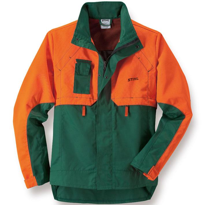STANDARD forestry work jacket, Green / Orange