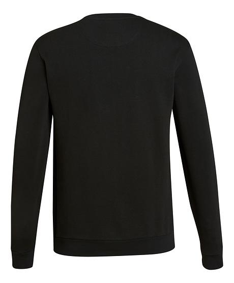 Sweatshirt LOGO BLACK zwart