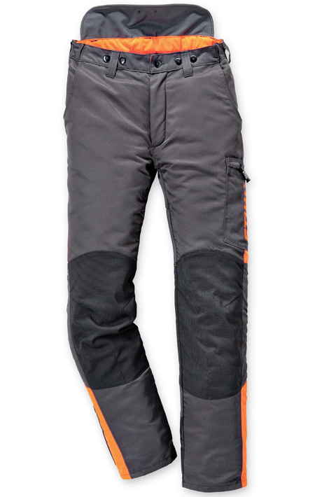 Pantalon DYNAMIC (classe 2), anthracite/orange