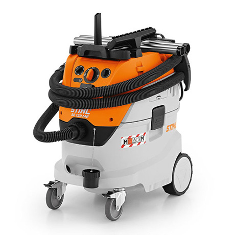 SE 133 ME - Certified wet and dry vacuum cleaners