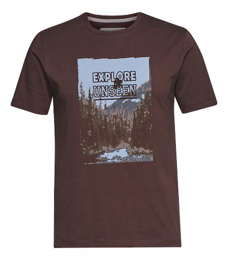 STIHL T-Shirt EXPLORE brun