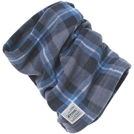 Μπλε μαντήλι λαιμού
