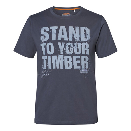 "T-shirt ""STAND TO YOUR TIMBER"""