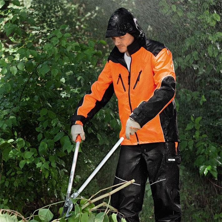 Wetterschutzjacke RAINTEC