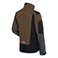 ADVANCE X-SHELL veste, homme, tourbe/noir
