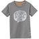 """T-Shirt """"YOUNG WILD"""", dunkelgrau"""