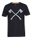 STIHL T-Shirt AXE, schwarz