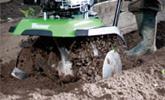 Cultivo en hileras estrechas y terrenos blandos