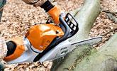 Ścinka i okrzesywanie drewna grubego