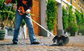 路面を効率よく掃除
