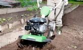 Σκάψιμο πυκνοφυτεμένων καλλιεργειών σε εδάφη μικρής έως μεσαίας σκληρότητας