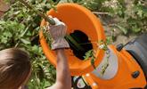 Rozdrabnianie odpadów ogrodowych