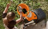 Drcení zahradního odpadu